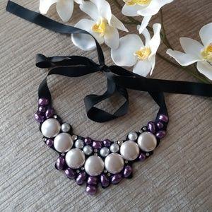 Jewelry - Ribbon Tie Necklace